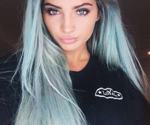 blue, hair, and long image