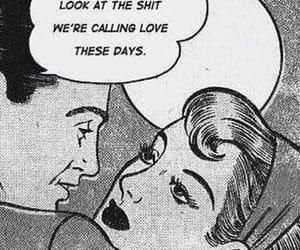 black and white, comic, and days image