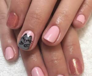 Gatos, nails, and gatitos image