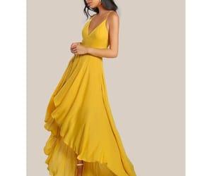 clothing, fashion, and maxi dress image