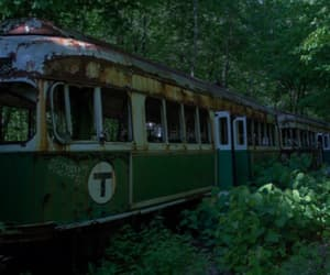 green, train, and aesthetic image