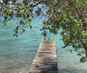lagoon, nature, and paradise image