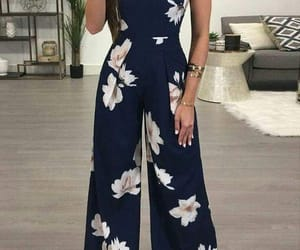 fashion, floral, and cute image