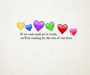 hearts and quote image