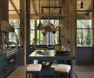 cabin, home decor, and homes image