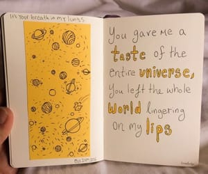 yellow, art, and journal image
