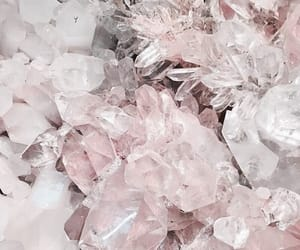 pink, crystal, and white image