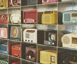 vintage, radio, and retro image