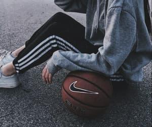 Basketball, nike, and girl image