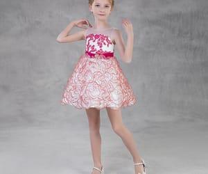 fashion, candy pink dress, and short dress image