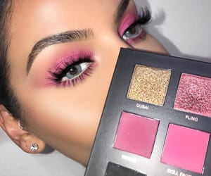 chic, fashion, and makeup image