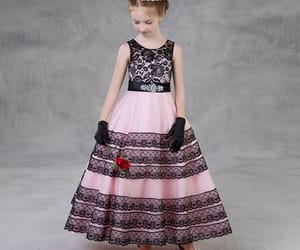 black, lace, and candy pink image