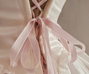 dress, pink, and vintage image