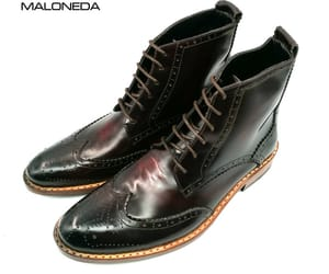 ankle boots, short boots for men, and brogue boots image