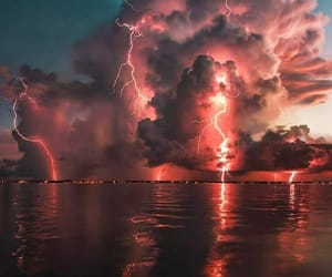 clouds, storm, and nature image
