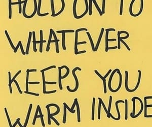 quotes, yellow, and warm image