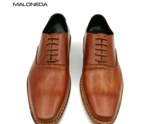 brown leather shoes, handmade dress shoes, and formal shoes leather image