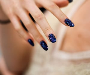 fashion, glitter, and nail polish image