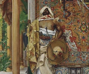 art, moor, and painting image