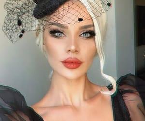 makeup, girl, and Hot image