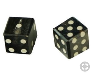 black, cube, and dice image