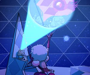 pearl, pink diamond, and steven universe image