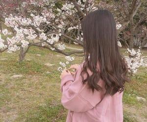 korean, pink, and ulzzang image