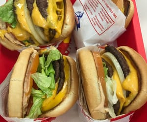 delicioso, fast food, and in n out image