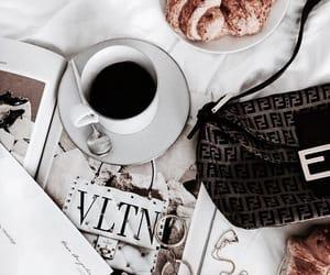 coffee, jewelry, and magazine image