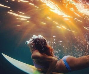surf, summer, and sun image