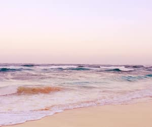 beach, landscape, and pastel image