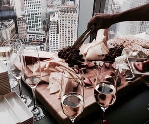 food, wine, and city image