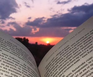 book, clouds, and summer image