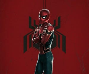Avengers, spider man, and iron spider image