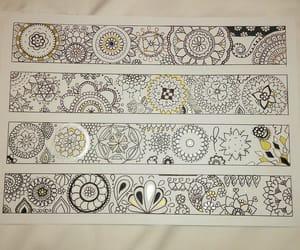 d, handmade, and mandala image