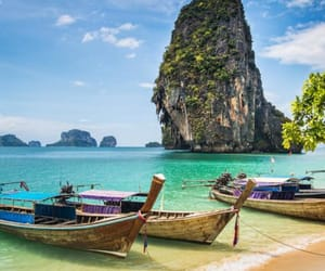 asia, beach, and nature image