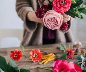 flowers, wallpapers+background, and we heart it+arka plan image