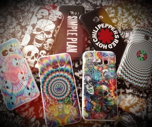 rhcp, phonecase, and trippyvibes image