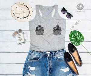 etsy, summer, and tank top image