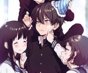 anime, hyouka, and anime boys image