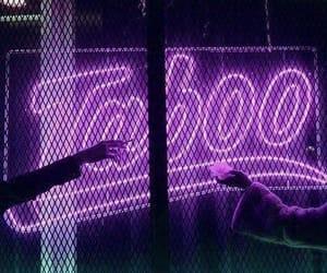 taboo, neon, and light image