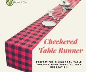 Amazon, table runner, and etsy image