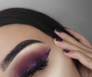 purple, wonderful, and eyesbrow image