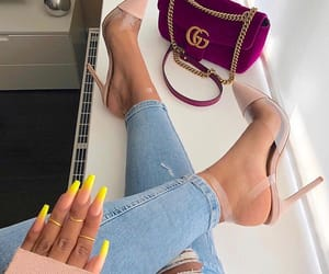 gucci, nails, and goals image
