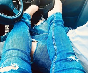 boy, jeans, and rasgado image