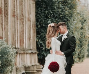 roses, wedding, and love image