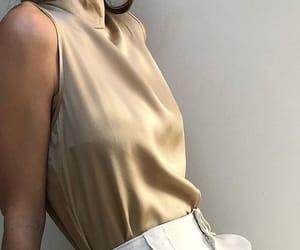 beige, vintage, and brown image