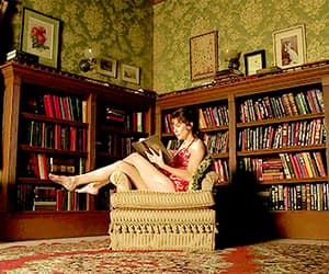pushing daisies and books image