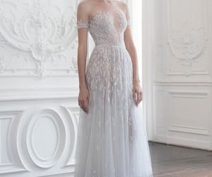 dress, haute couture, and paolo sebastian image