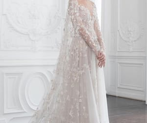 paolo sebastian, bridal, and dress image